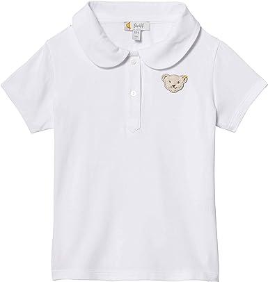 Steiff Poloshirt Polo, Blanco (Bright White 1000), 86 para Bebés ...