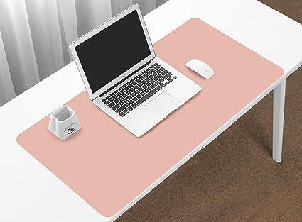 BOONA Office Desk Pad Protecter, Small 23.6u0027u0027 X 11.8u0027u0027 PU Leather
