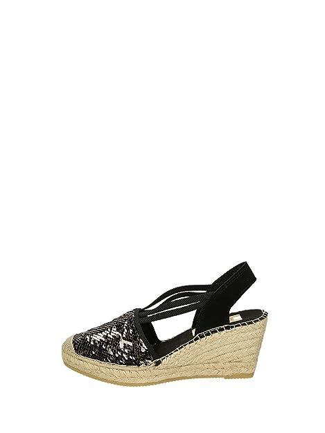Vidorreta - Alpargatas para Mujer Negro Size: 39: Amazon.es: Zapatos y complementos