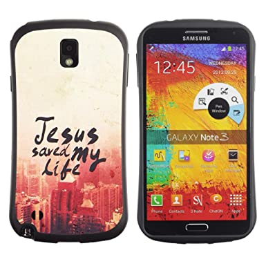 Dreamcase Bible Quotes Silicone Hard Bumper Back Protection Case