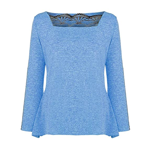 Camisa Larga de Mujer Causal, Blusa Elegante de Manga Larga Blusa Elegante de Moda Top