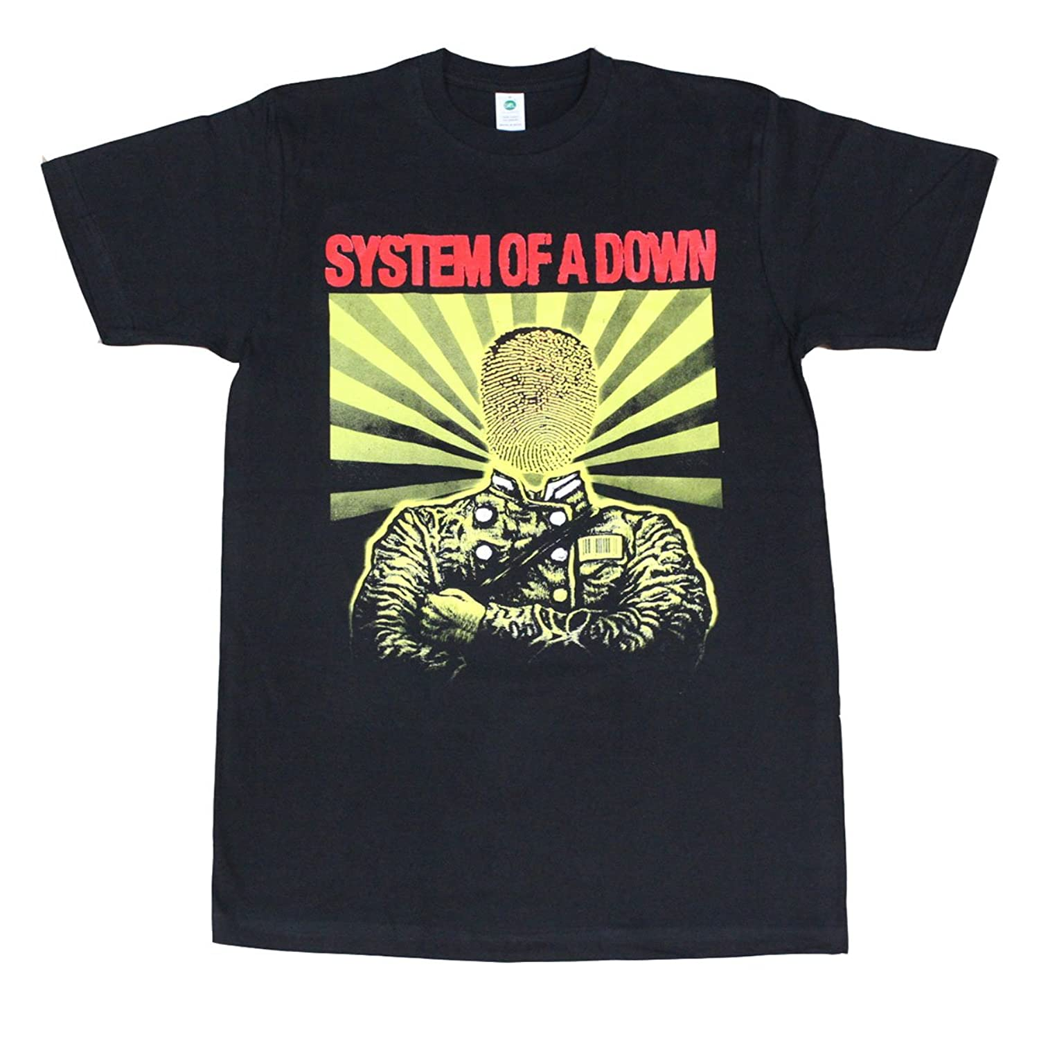System Of a Down Physiography Men's T-Shirt Black