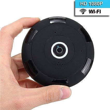 eoqo® Cámara de Seguridad IP 1080P WiFi Angulo Amplio 180°-360° para