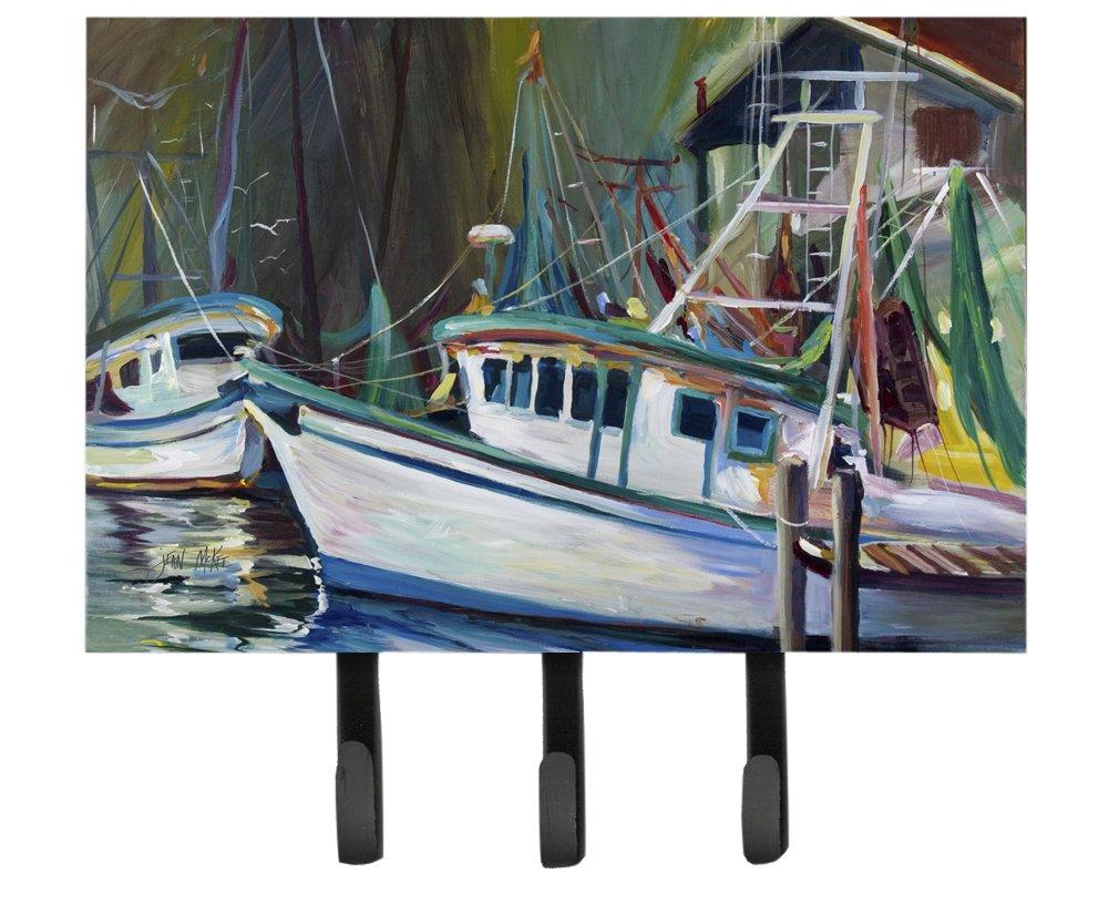 Caroline\'s Treasures JMK1058TH68 Joe Patti Shrimp Boat Leash or Key Holder, Large, Multicolor