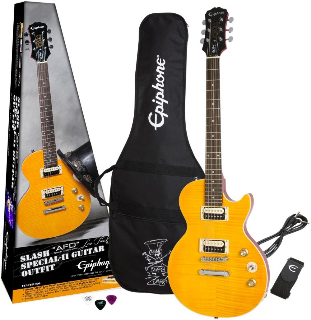 Epiphone Slash Afd Signature Les Paul Special Ii Basic Electric Guitar Circuits Part 1 Pickups Includes Gig Bag Musical Instruments