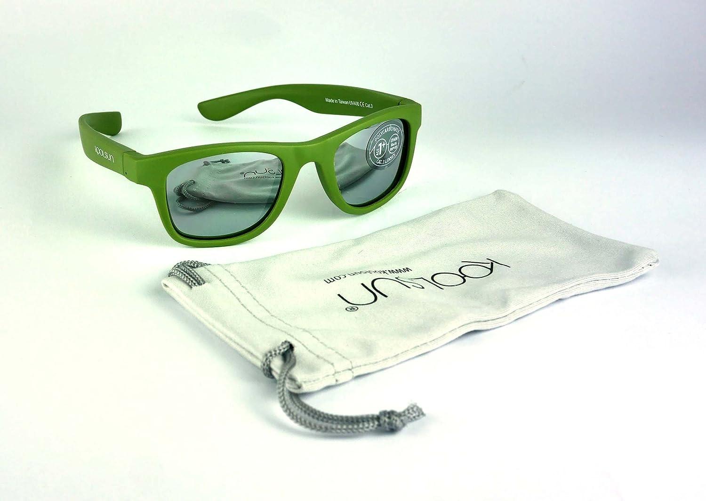 9923caa81c9132 Ingrédients. NA Voir l ensemble des Description du produit. Koolsun pour  bébé et enfants Lunettes de soleil Wave Fashion 1 +   Army Green Miroir