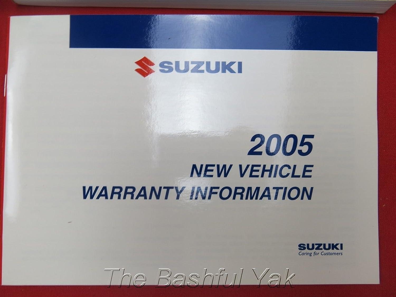 Amazon.com: 2005 Suzuki Reno propietarios Manual: Suzuki ...