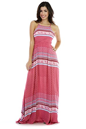 Miami Bay Maxi Dress S Multi Print