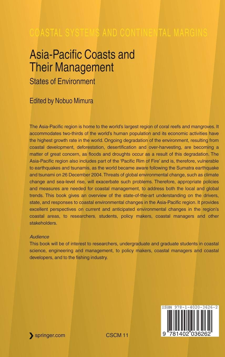 Asia-Pacific Coasts and Their Management: States of Environment