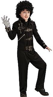 Amazon.com: Michael Jackson Childs Value Bad Buckle Jacket ...