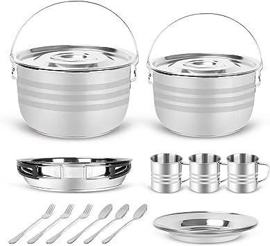Amazon.com: Odoland - Juego de 15 utensilios de cocina de ...