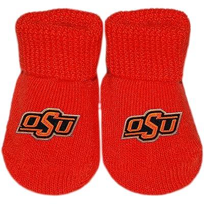 Oklahoma State University Cowboys Newborn Baby Bootie Sock