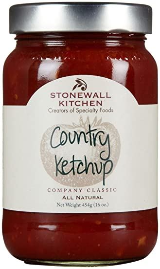 Amazon.com : Stonewall Kitchen Country Ketchup, 16 oz : Grocery ...