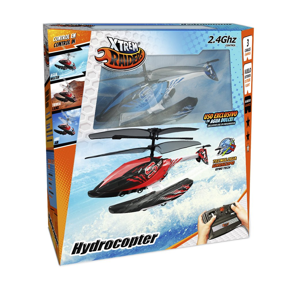 World Brands Xtrem Raiders-Hydrocopter (Rojo)