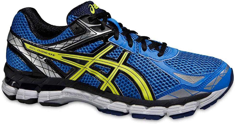 ASICS Gel indíquese Hombres Zapatillas 2015 Azul Amarillo YCSports Blue/Flash Yellow Talla:12 UK: Amazon.es: Deportes y aire libre