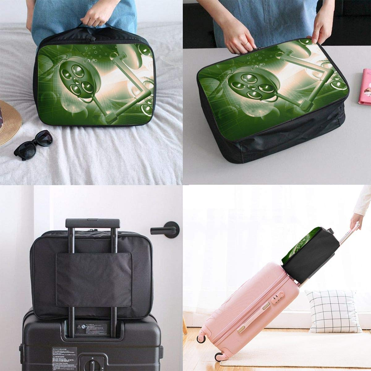 JTRVW Luggage Bags for Travel Lightweight Large Capacity Portable Duffel Bag for Men /& Women Summer Surfing Travel Duffel Bag Backpack