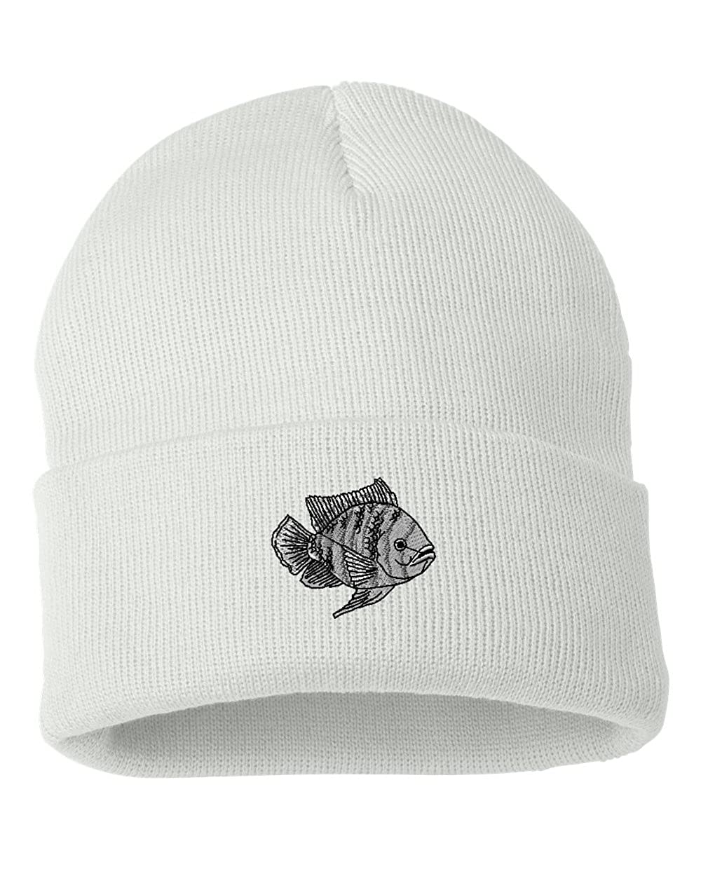 Tilapia Custom Personalized Embroidery Embroidered Beanie