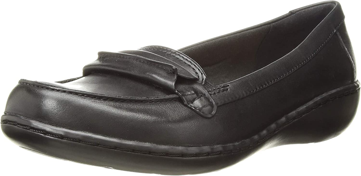 Ashland Lily Ladies Clarks Loafer Style Slip On Shoes