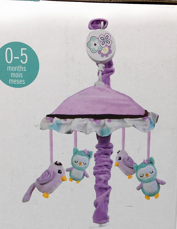 Babys First By Nemcor Love Birds Musical Mobile