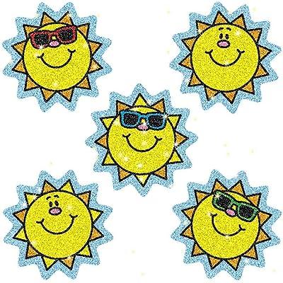 Carson-Dellosa Suns Dazzle Stickers: Toys & Games