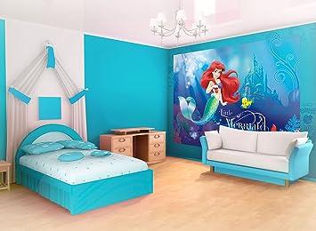 Disney Children/'s bedroom Wallpaper Ariel Mermaid photo wall mural Giant size