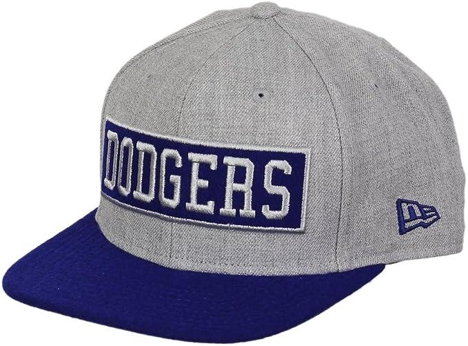 MLB Los Angeles Dodgers 9Fifty Box Word Snapback Cap: Amazon.es ...