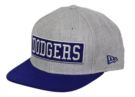 A NEW ERA Los Angeles Dodgers Gorra 9 Fifty Original Fit - Caja Word - Heather/Royal: Amazon.es: Ropa y accesorios