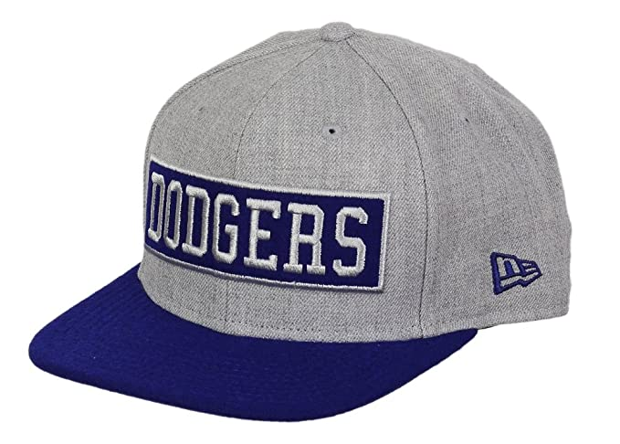 5b05a37f6db65 A NEW ERA Los Angeles Dodgers Gorra 9 Fifty Original Fit - Caja Word -  Heather Royal  Amazon.es  Ropa y accesorios