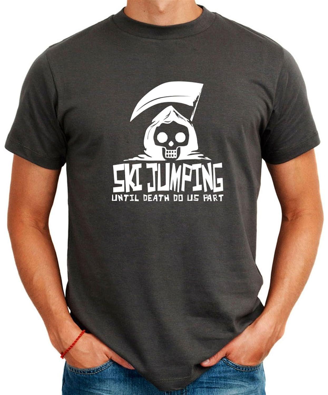 Ski Jumping UNTIL DEATH SEPARATE US T-Shirt