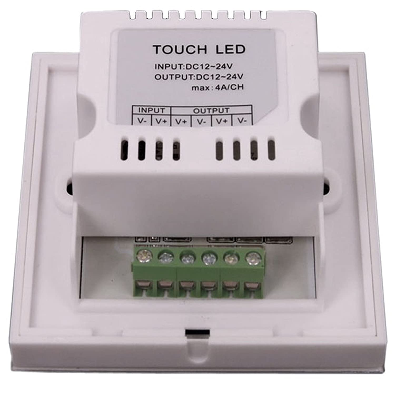 Variateur LED tactile encastrable 12V-24V interrupteur gradateur pour ruban  LED bande LED K-MONO-12  24V d2e2aa287a8