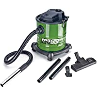 PowerSmith PAVC101 10 Amp 3 Gallon All-In-One Ash Vacuum, Shop Vacuum, and Blower with Metal Lined Hose, Metal Nozzle, Wheeled Base, 2 Extension Wands, Brush Nozzle, Turbo Nozzle, and Filter