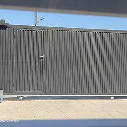Sfeomi Abridor de Puerta Corredera 200W Motor para Puerta Corredera 600 kg Abridor de Puerta Inteligente Operador de Puertas con Controles Remotos Abrepuertas Automático (200W): Amazon.es: Bricolaje y herramientas