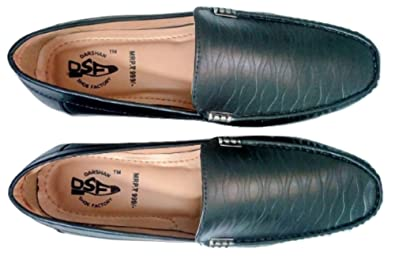 26df1e2cb22a DSF Black Loafer for Men  Buy Online at Low Prices in India - Amazon.in