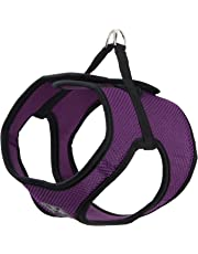 RC Pet Products Cirque Soft Walking Step in Dog Harness, Large, Purple