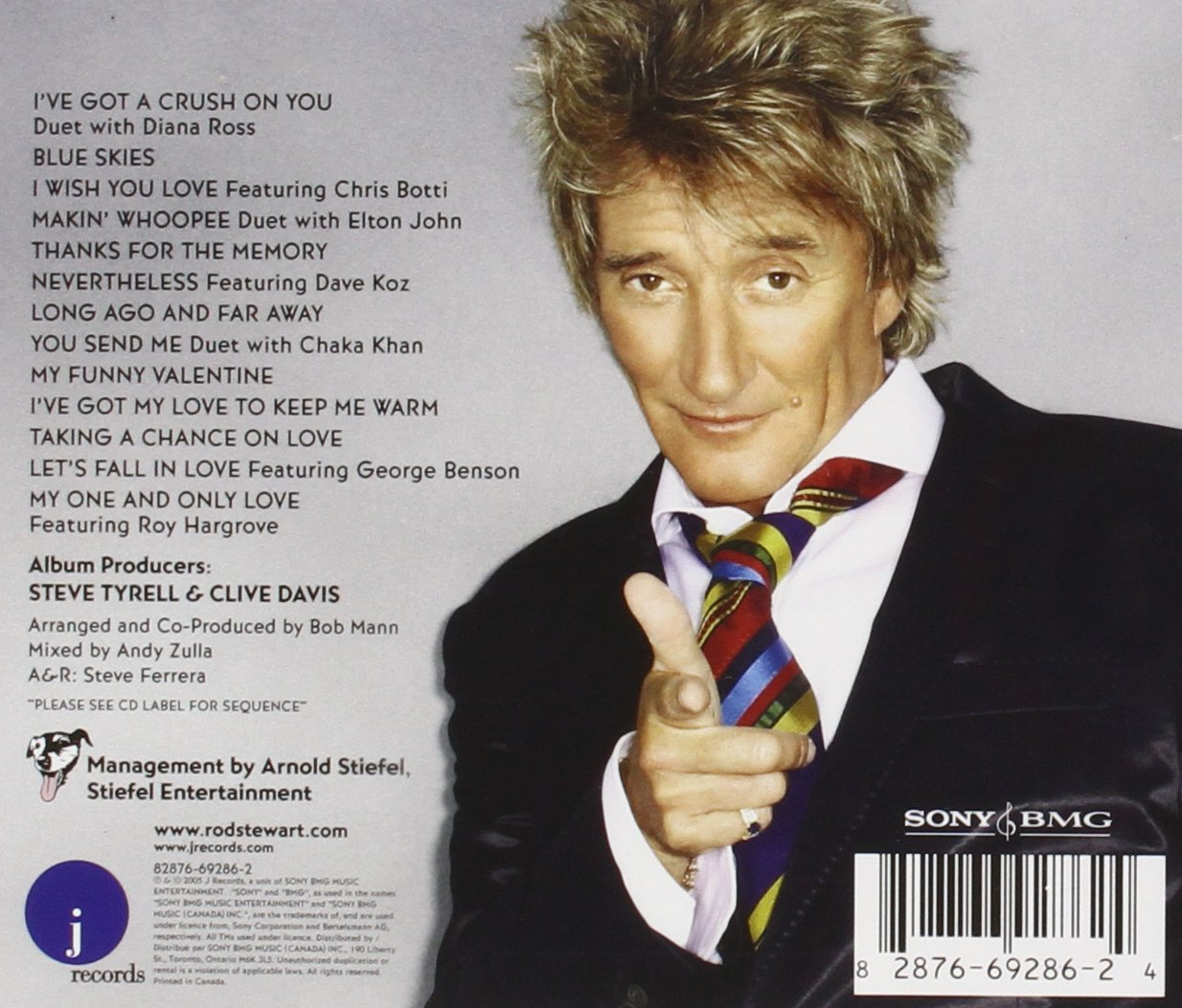 Rod Stewart   Thanks For The Memory...The Great American Songbook IV    Amazon.com Music