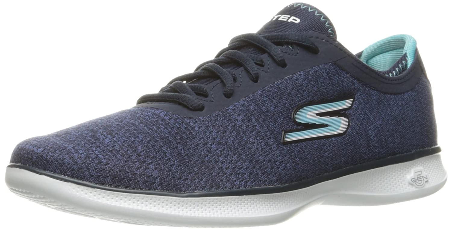 Skechers Damen Go Step Lite-Interstelllar Sneaker  38 EU|Blau (Nvlb)