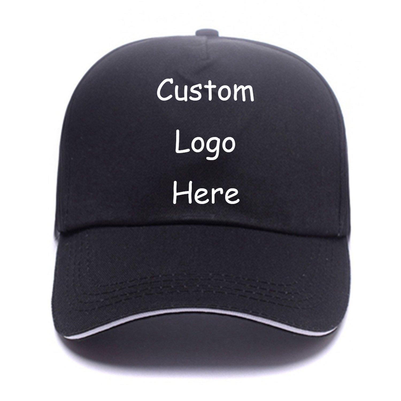 7d29cc56a Amazon.com: Classic Cotton Hip Hop Baseball Caps Custom Unisex Low ...