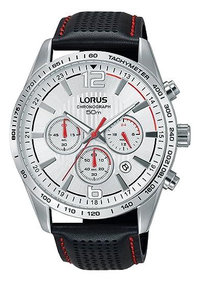 Lorus Reloj Cronógrafo para Hombre de Cuarzo con Correa en Cuero RT391FX9