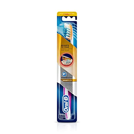 Oral-B Pro Health Smart Flex Soft Toothbrush Manual Toothbrushes at amazon