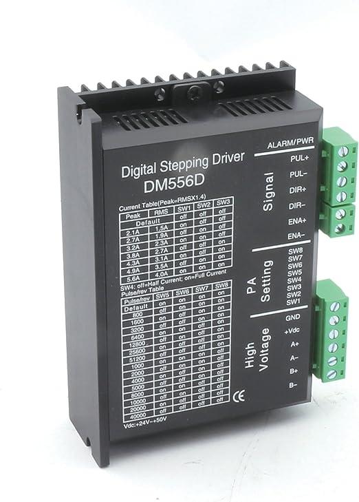 NEMA17 de controlador de motor paso a paso NEMA23 Digital dm556d 5 ...