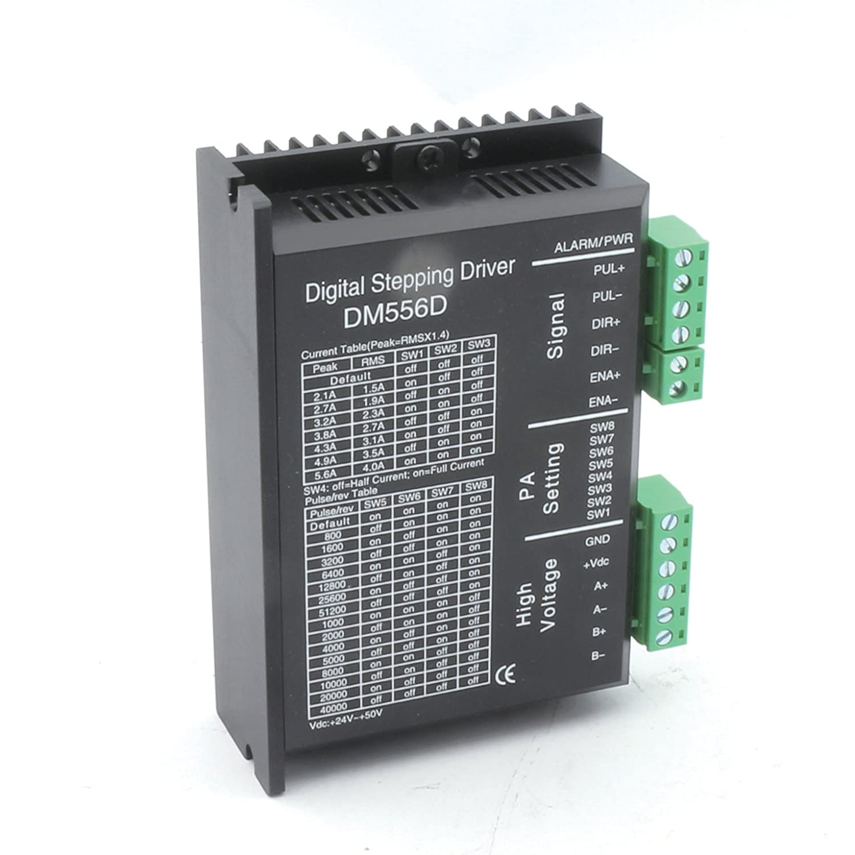 DM556D Digital Stepper Motor Driver 24-50V//DC 256 microstep CNC Milling Machine