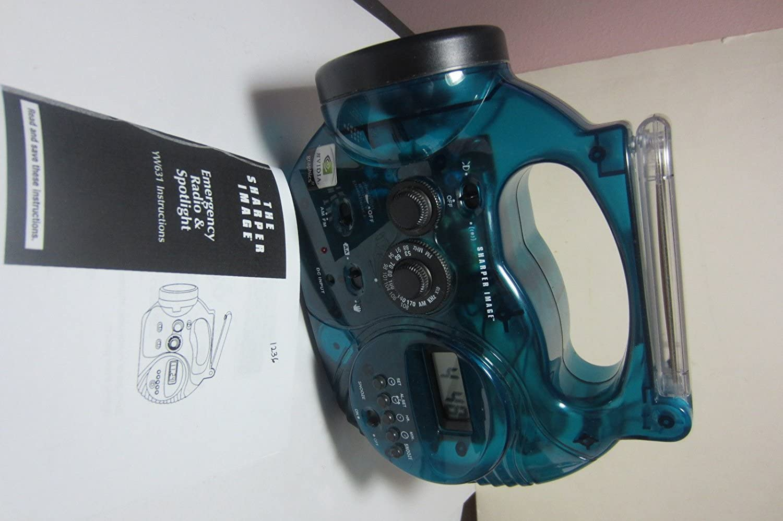 B0000AI3Q5 Sharper Image 5-in-1 Emergency Radio and Spotlight (YW631) 71vckvXUktL.SL1500_