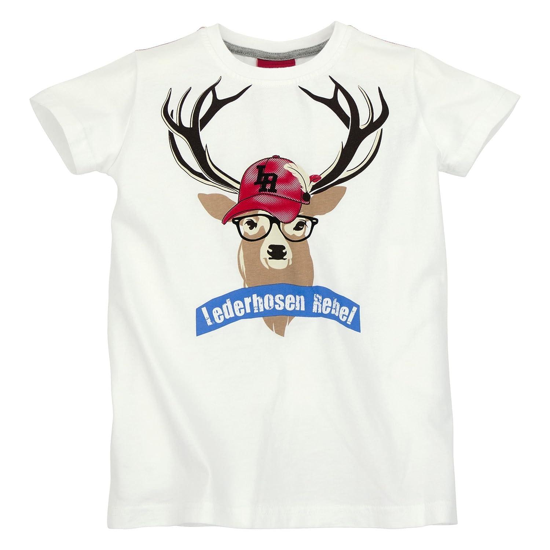 BONDI T-Shirt ´Hirsch´ Lederhosen Rebel Artikel-Nr.29964