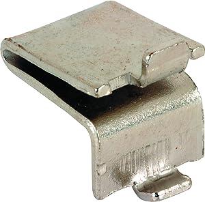 "Prime-Line Products U 10173 Shelf Bracket Clips (8 Pack), 5/8"", Nickel Plated Finish"