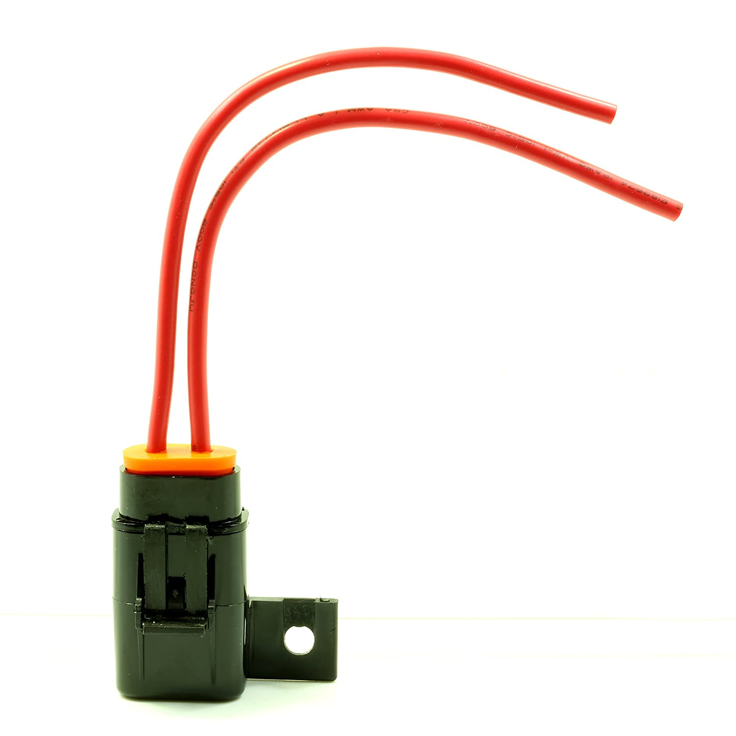 Lumision 12AWG Weather Proof Mountable Fuse Holder Marine Grade w// 5A Fuse