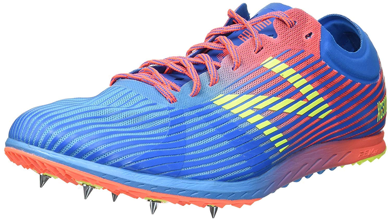 New Balance Women's 5K V4 Cross Country Running Shoe, Bright Blue, 5 B US