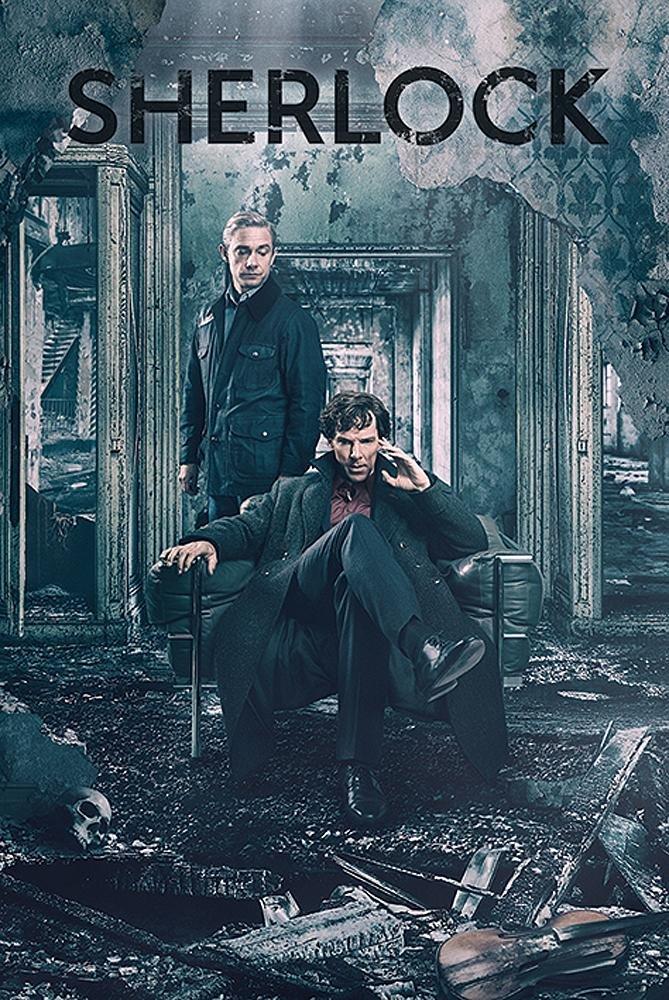 Destruction 61cm x 91,5cm Poster Sherlock