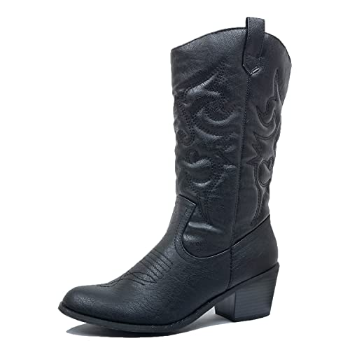 The 8 best womens black cowboy boots under 100
