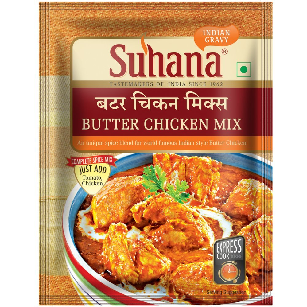 Suhana Butter Chicken Mix,50gm (Combo 0f 3): Amazon.in: Grocery U0026 Gourmet  Foods