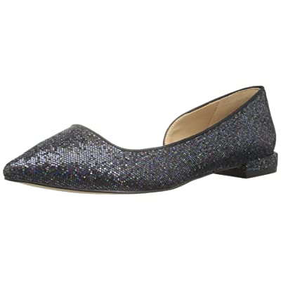 Amazon Brand - The Fix Women's Emma Pointed-Toe D'Orsay Ballet Flat: Shoes